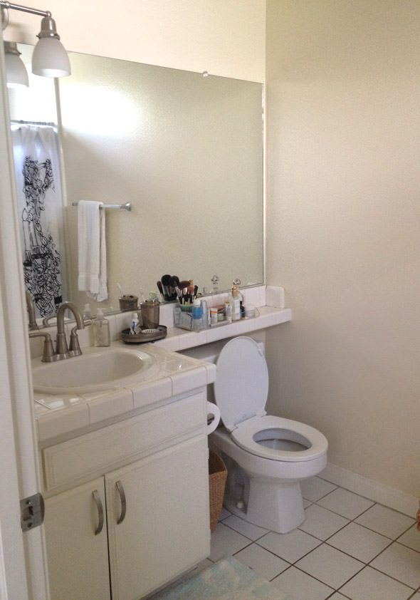 Beau My Ugly Apartment Bathroom Makeover Part One