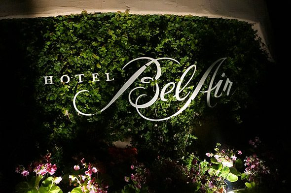 Hotel Bel Air Sign