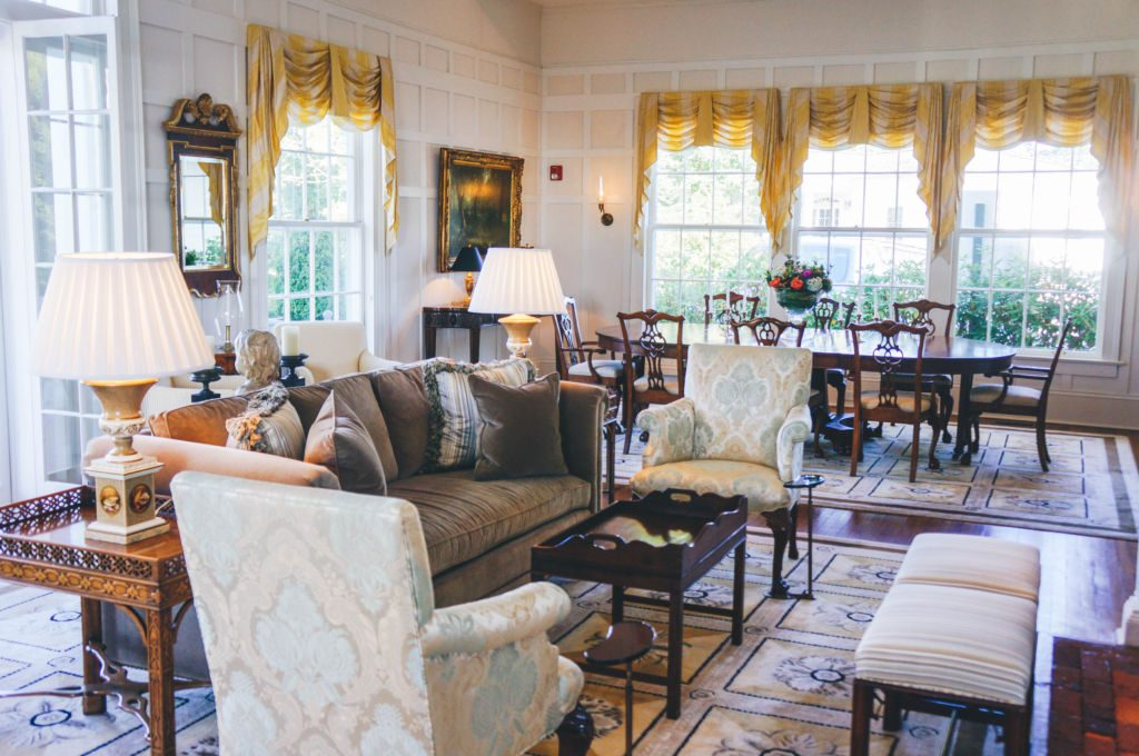 Inside Westglow Resort and Spa, a luxury retreat in Blowing Rock, North Carolina.