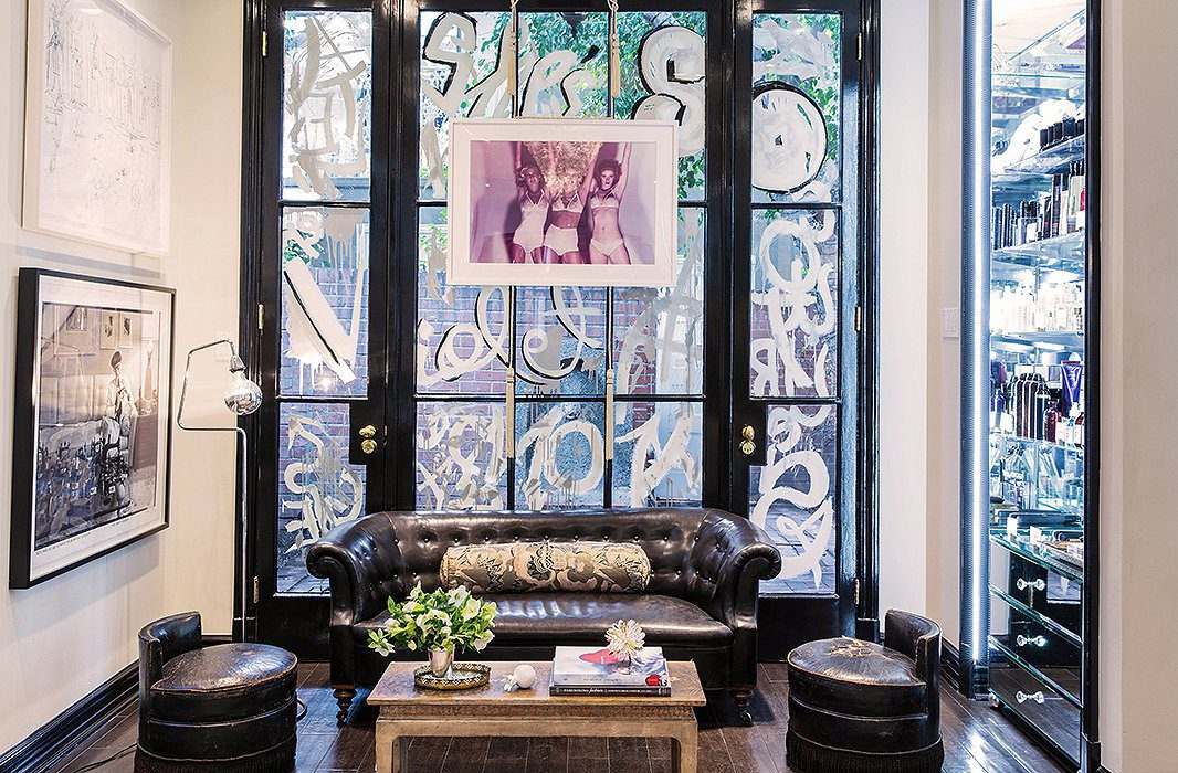 A look inside Violet Grey on Melrose Place.