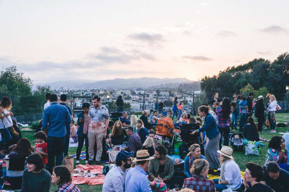 The best way to spend those LA nights is at Barnsdall Art Park Wine Tasting Event Every Friday during the summer.