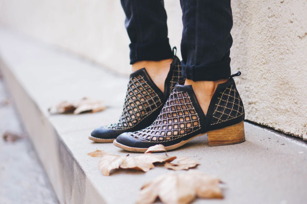 A roundup of the best booties for fall including the popular Jeffrey Campbell Taggart Ankle Boots