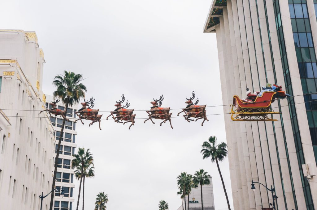 The Best Christmas Events in Los Angeles including the tree lighting at The Grove