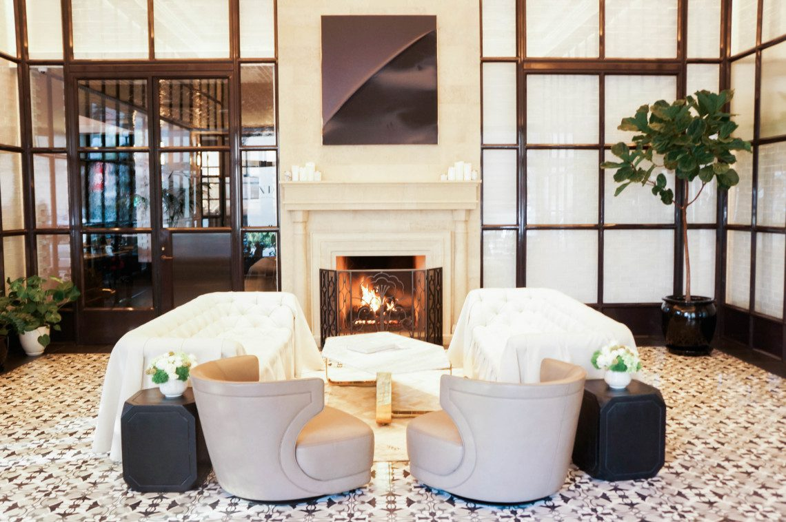 A look inside the Pendry Hotel, a new luxury hotel owned by the Montaage in the Gaslap District of San Diego.