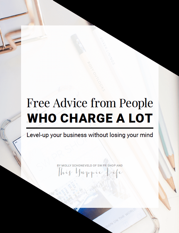 Free Advice from People Who Charge a Lot