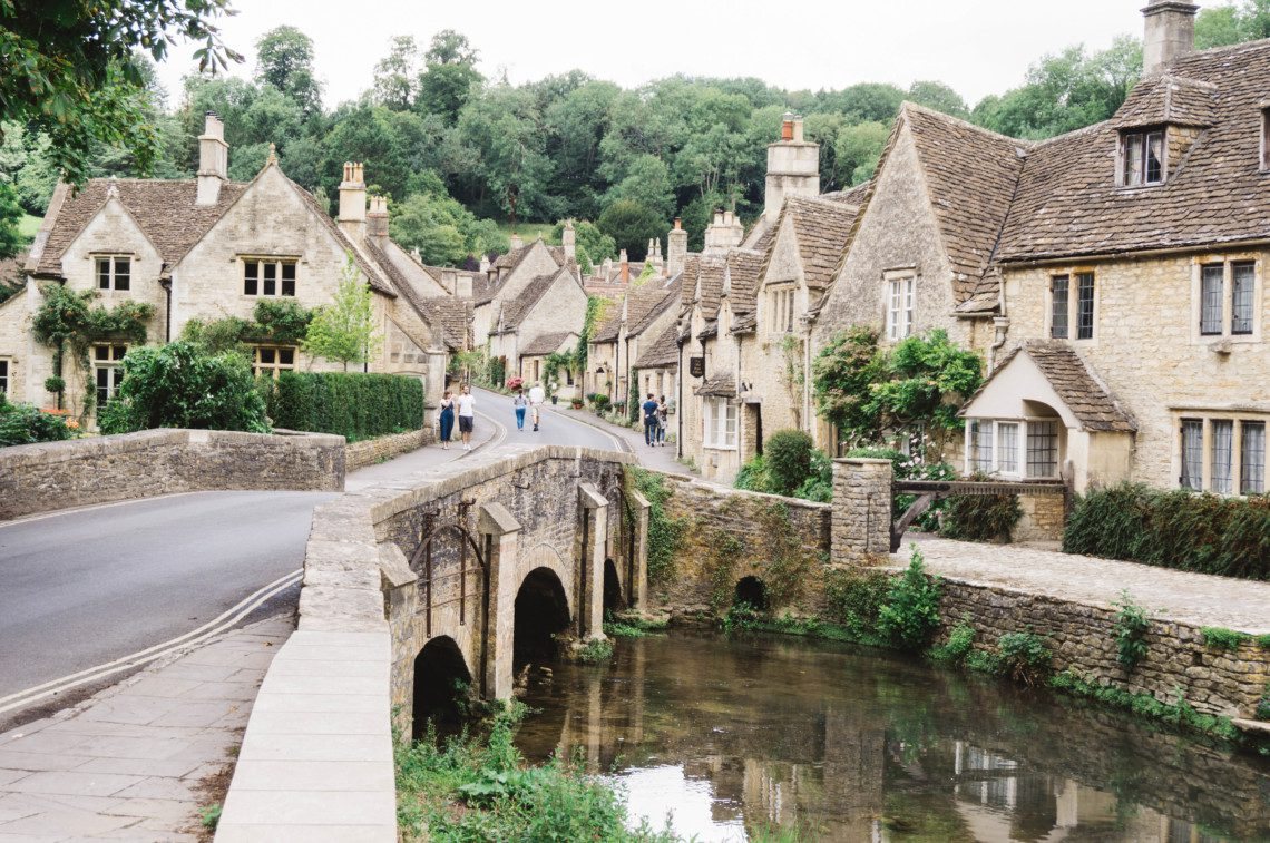 The prettiest village in England, this is Castle Combe, located in The Cotswolds.