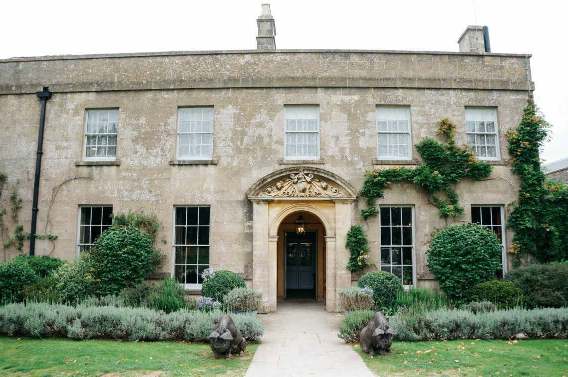 The Pig near Bath, a charming country house hotel with a farm-to-table restaurant in Somerset, England.