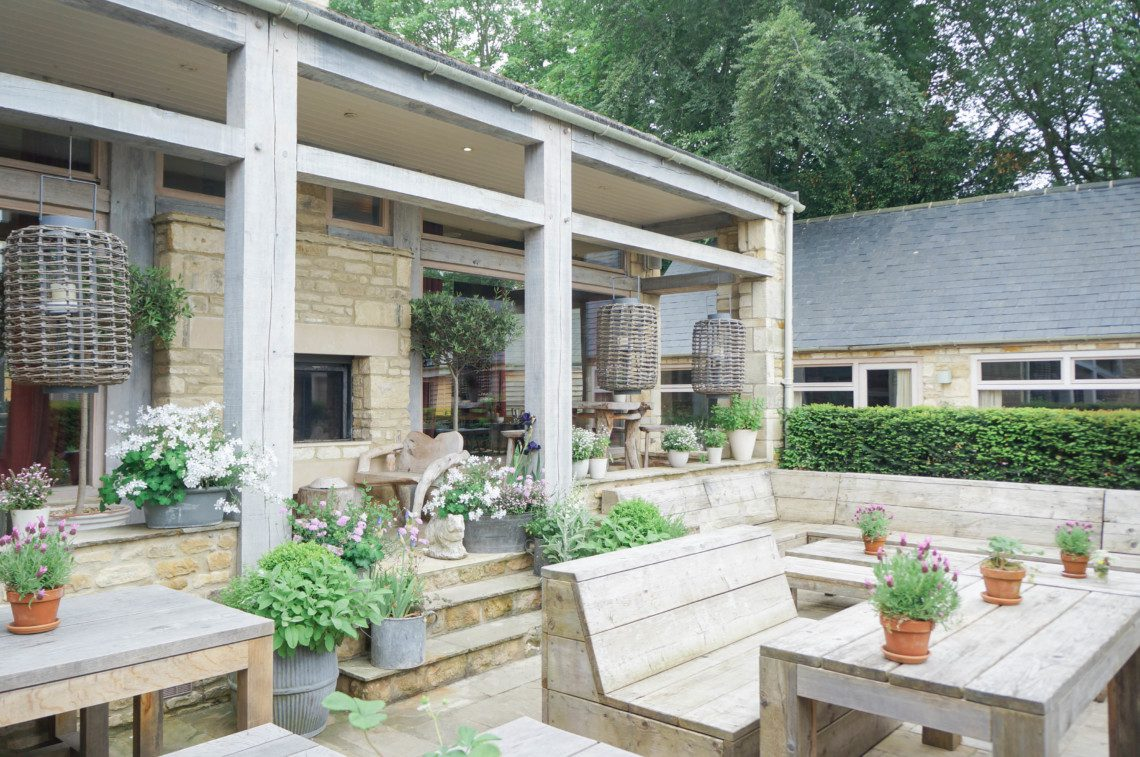 The Wild Rabbit is a charming country house hotel in The Cotswolds. A Daylesford property, it is less than a mile away from Dalyesford Farm and Bamford Spa.
